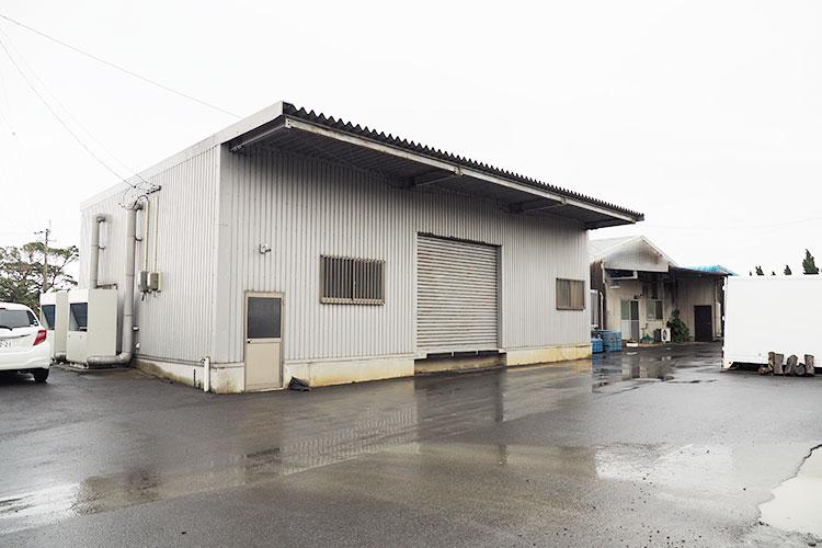 丸高水産の水産加工工場