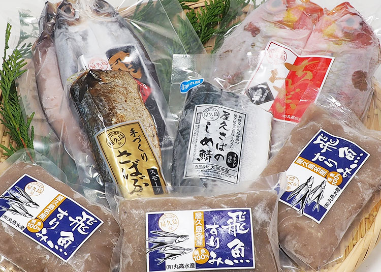屋久島の水産加工品の卸売販売のご案内